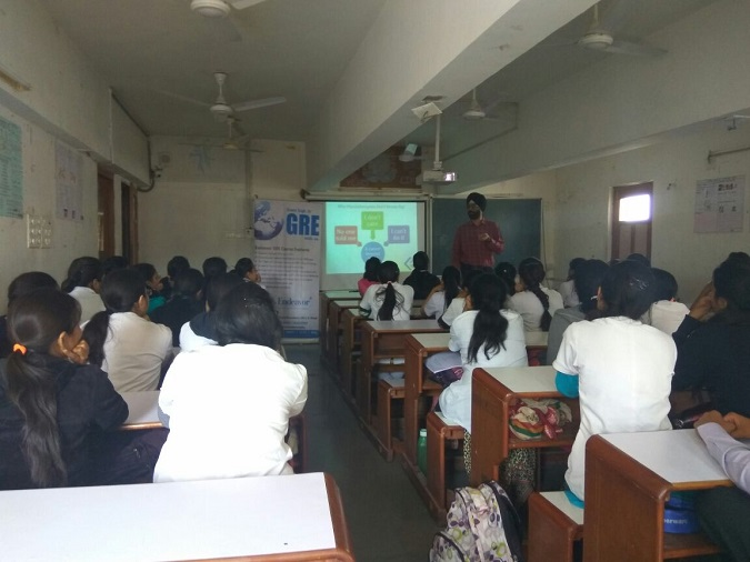 Seminar organized at JG Physiotherapy College for the final year students