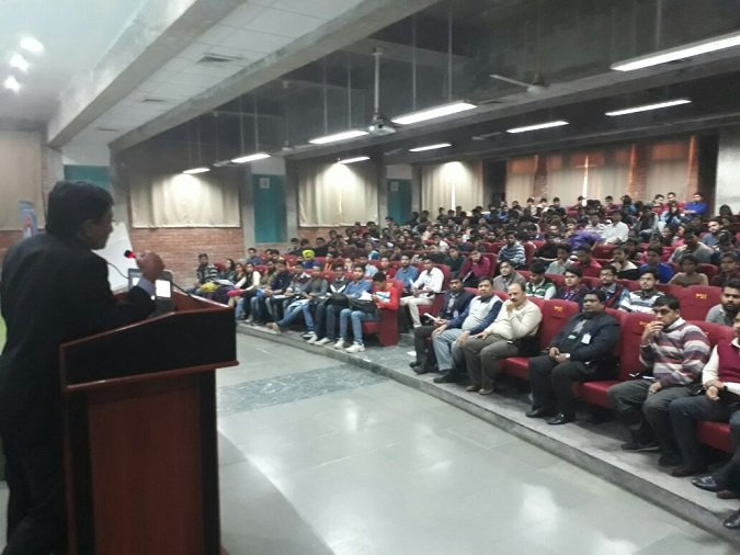 Seminar on 'Career Options after Engineering' at PSIT