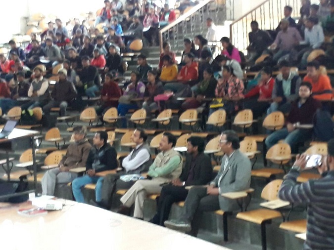 Seminar on 'Career Options after Engineering' at Kanpur University