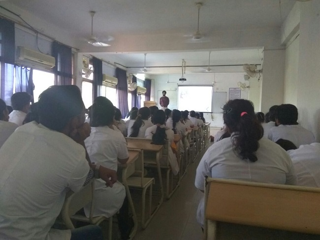 Seminar at AIMS regarding 'Careers Avenues after Physiotherapy'