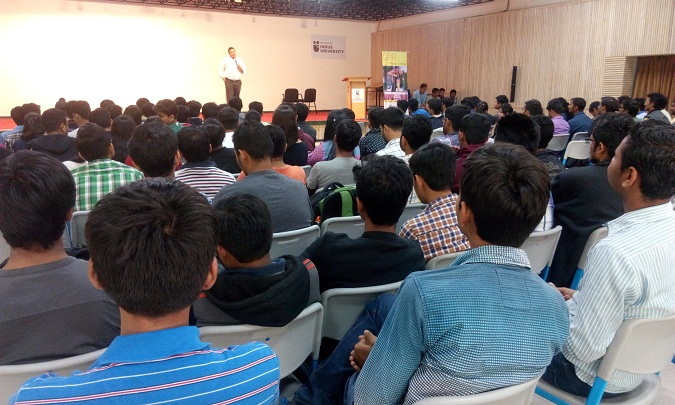Seminar on 'Career Decision after Engineering'