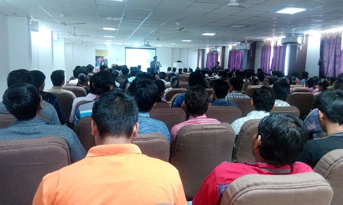 Seminar at Silver Oak Engineering College