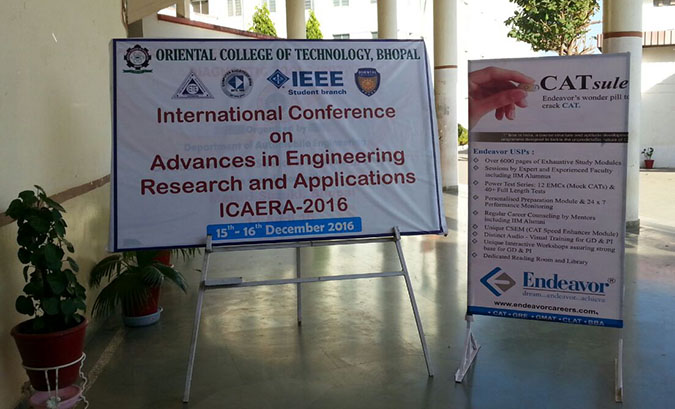 Session at ICAERA-2016 at OCT College Bhopal