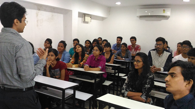 """Session On """"Orientation to Group Discussion & Group Exercise"""" for all the CAT-16 Students"""