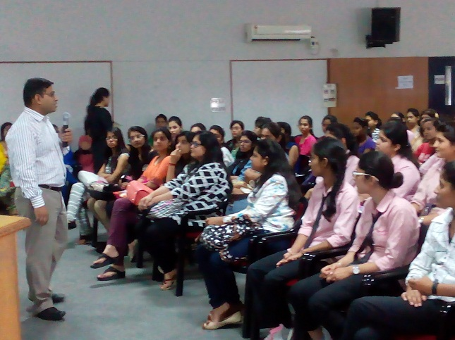 Seminar on the 'Career Options after Graduation' by Hemang Patel