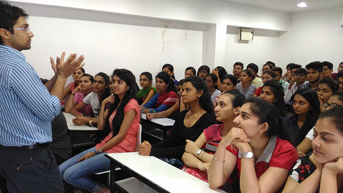 """Session On """"Orientation to Personality Development"""" for all the CMAT-17 Students"""