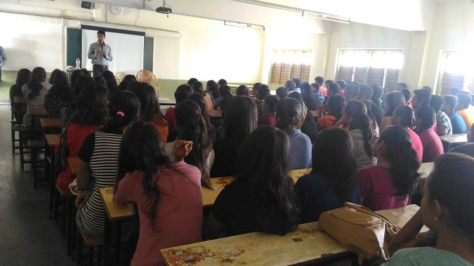 Seminar on Career Awareness for First Year BBA Students
