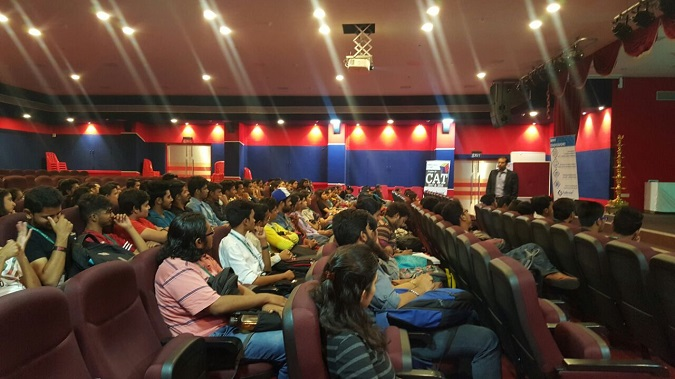 Session on 'Career after Graduation' by Sanket Bhatia
