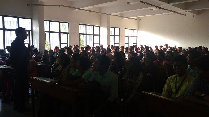 Seminar at SIES College on 'Careers after Graduation'