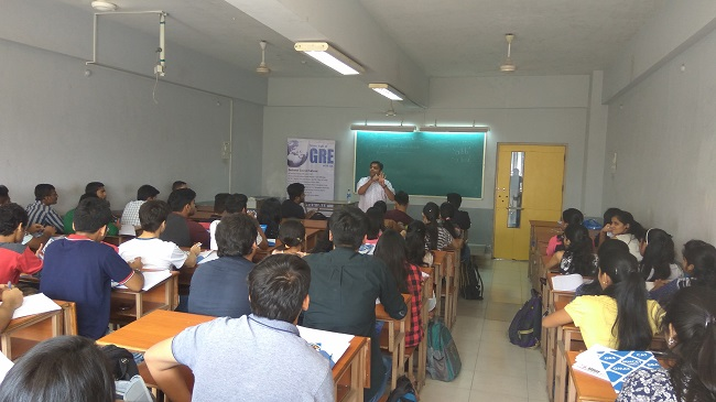 Seminar on MBA vs MS a career option at RGIT College