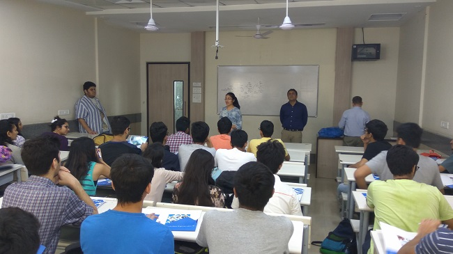 Seminar on MBA as a career option at Mithibai College, Vile Parle West