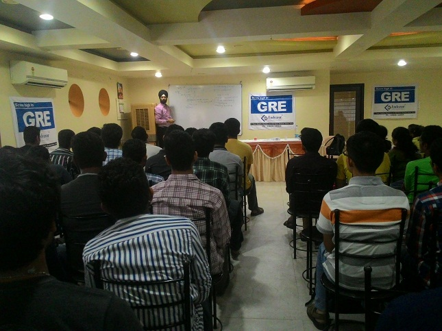 GRE Seminar at VVN Centre by Product Head, Ajit