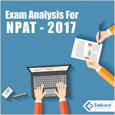 Exam Analysis NPAT 2017