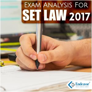 SET Law 2017 Exam Analysis