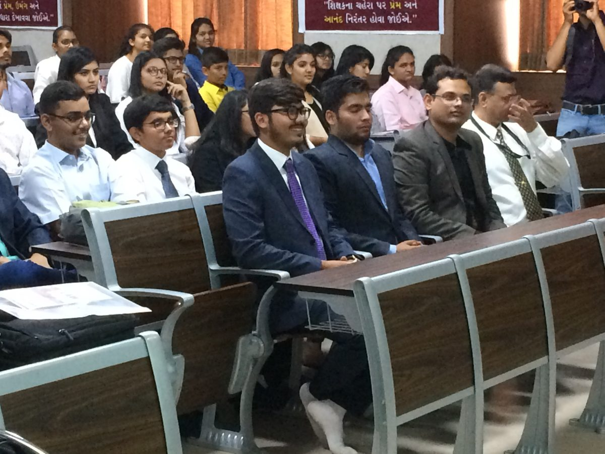Motivational Session at AIMUN (Asia International Model United Nations)