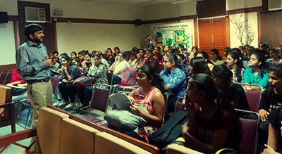 Seminar on MBA as a Career Option at Janki Devi Memorial College