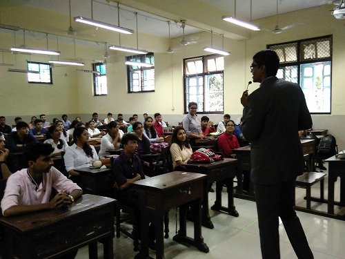 Seminar at Sydenham College of Commerce and Economics