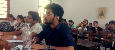 Resume writing workshop at St. Stephens College