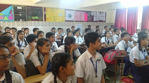 Career Awareness Seminar at St Ann's School, Sabarmati