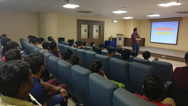 'Brands' Workshop at Jain College