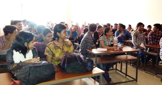 Session at College of Engineering Technology, Bhubaneswar