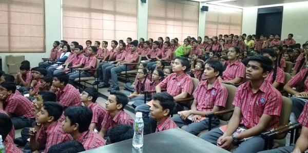 Seminar at Adani Vidya Mandir