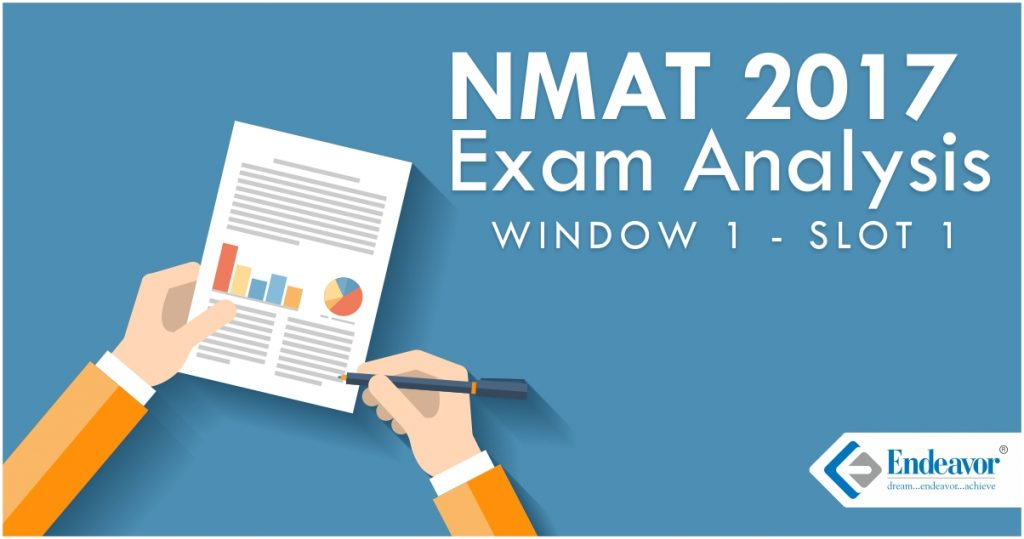 NMAT 2017 Exam Analysis: Window 1 Slot 1
