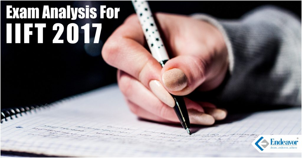 IIFT 2017 Exam Analysis