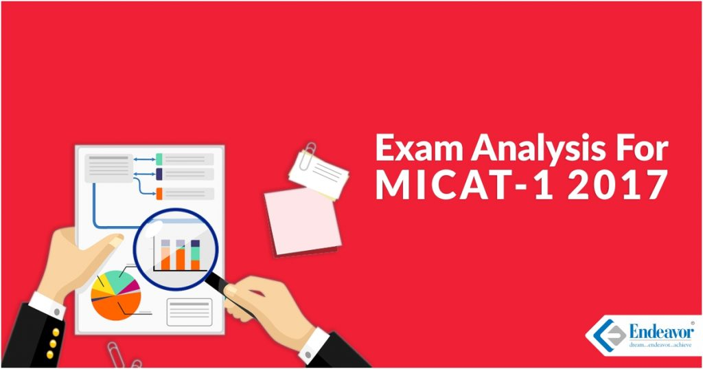 MICAT 1 2017 Exam Analysis