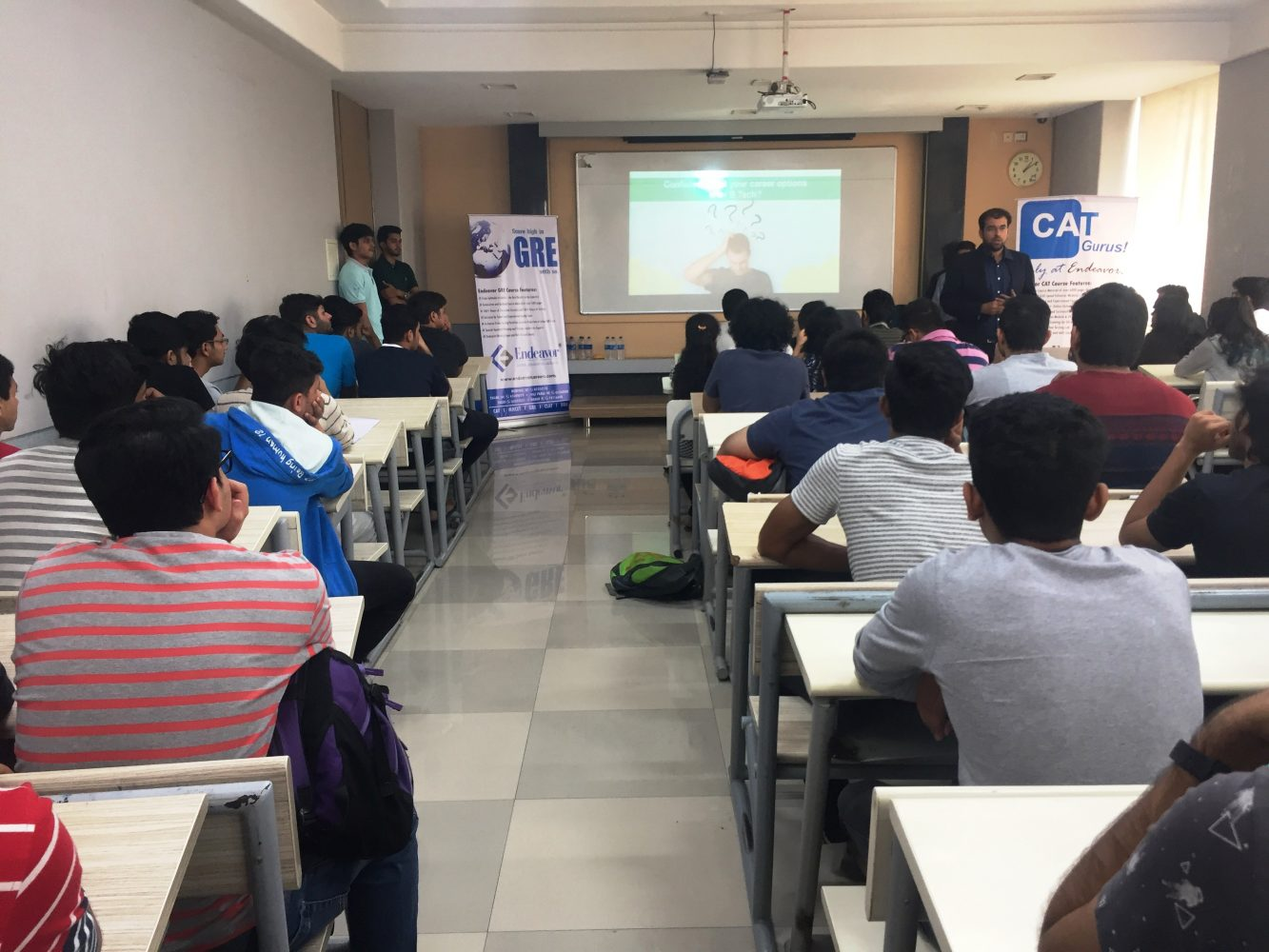 Seminars at Mukesh Patel School of Technology, Management and Engineering