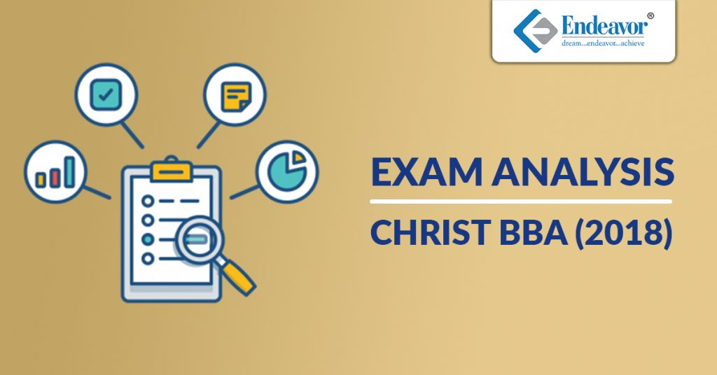 CHRIST BBA Entrance Test Analysis - 2018