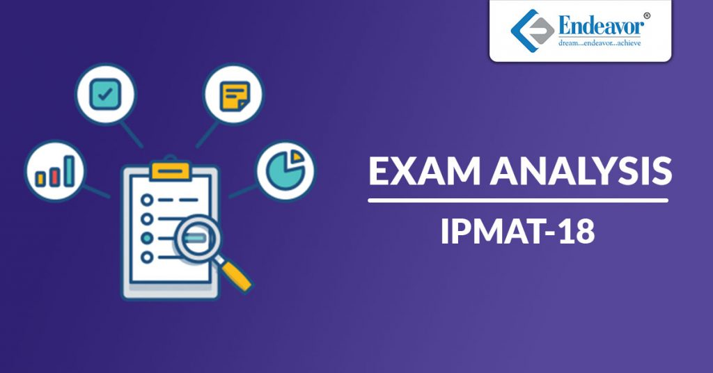 IPMAT 2018 Exam Analysis