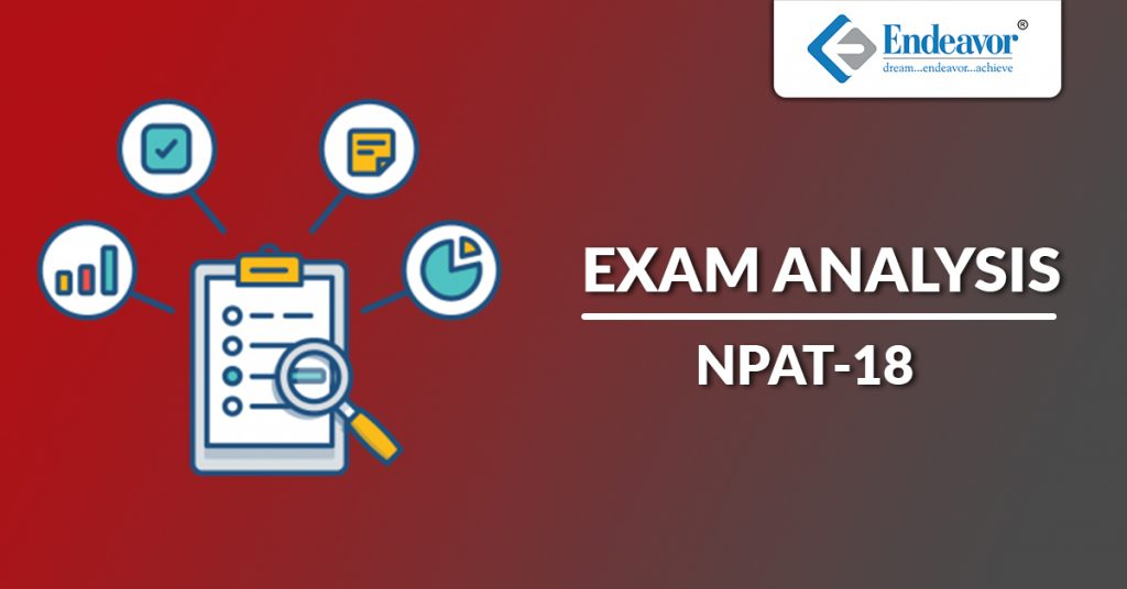 NPAT 2018 Exam Analysis