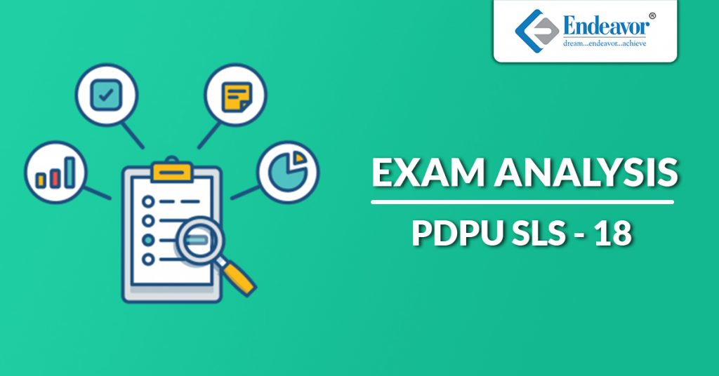 PDPU SLS 2018 Exam Analysis