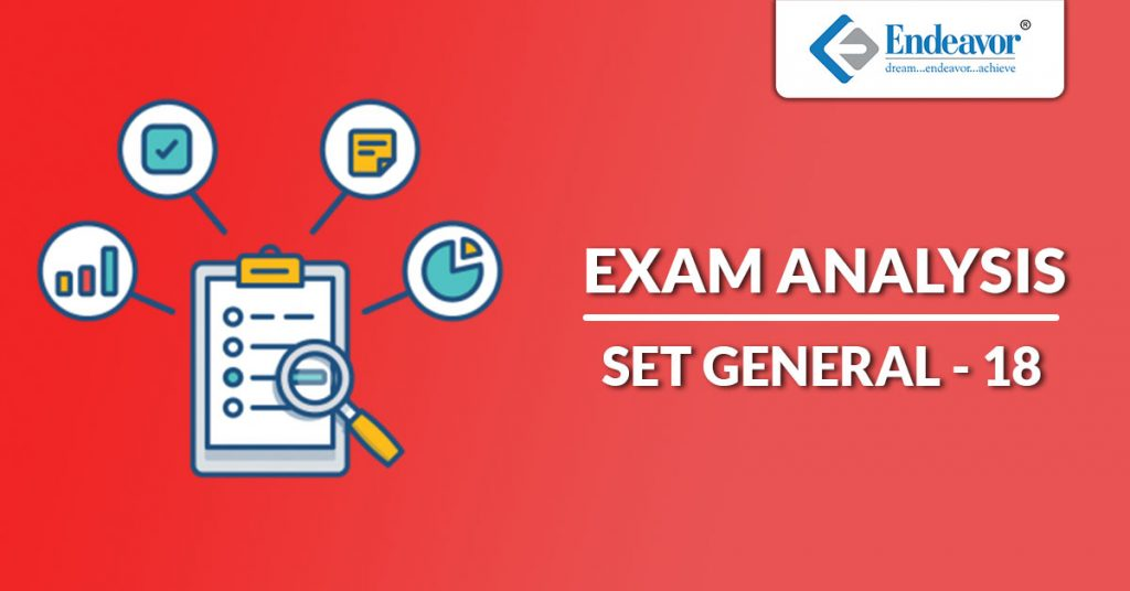 SET GENERAL -18 Exam Analysis