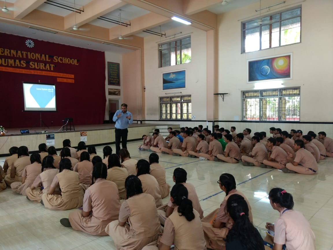 Career Guidance Workshop at Ryan International School