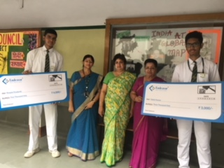 Prize Distribution to the Toppers of All India Endeavor Mock CLAT