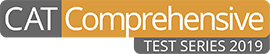 CAT Comprehensive Test Series 2019