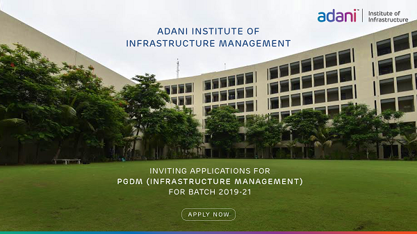 Fact File of Adani Institute of Infrastructure Management (AIIM)