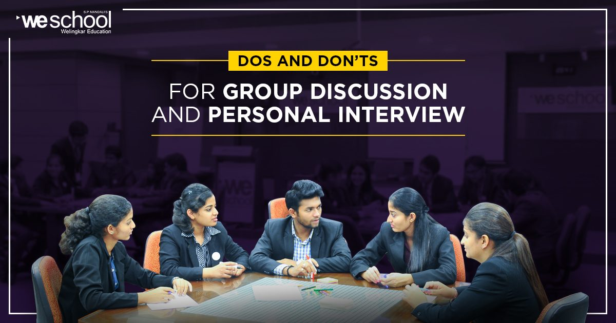 Dos and Don'ts for Group Discussion (GD)