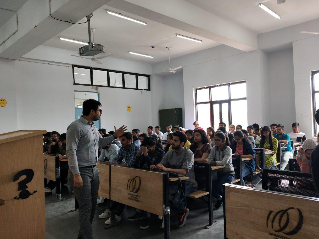 Session at Rajmas College