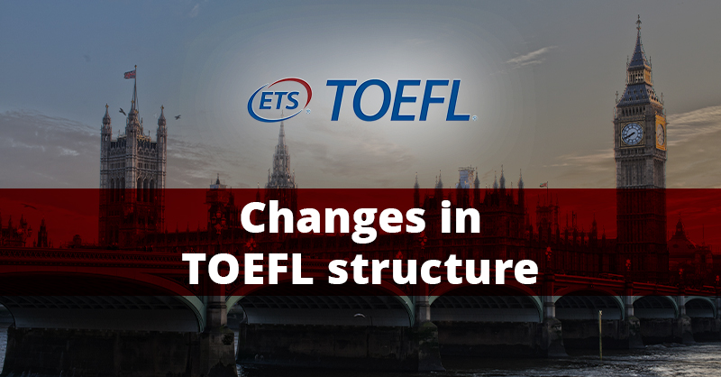TOEFL gets shorter!