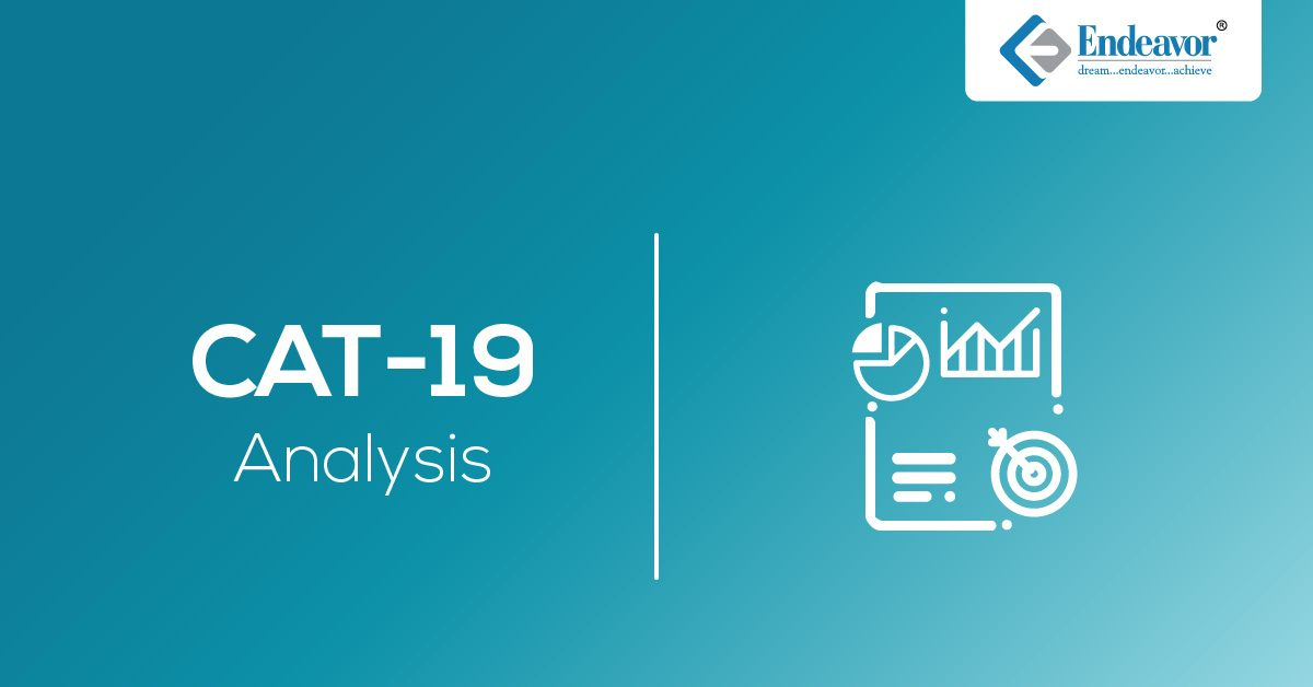 CAT 2019 Exam Analysis – Slot 1