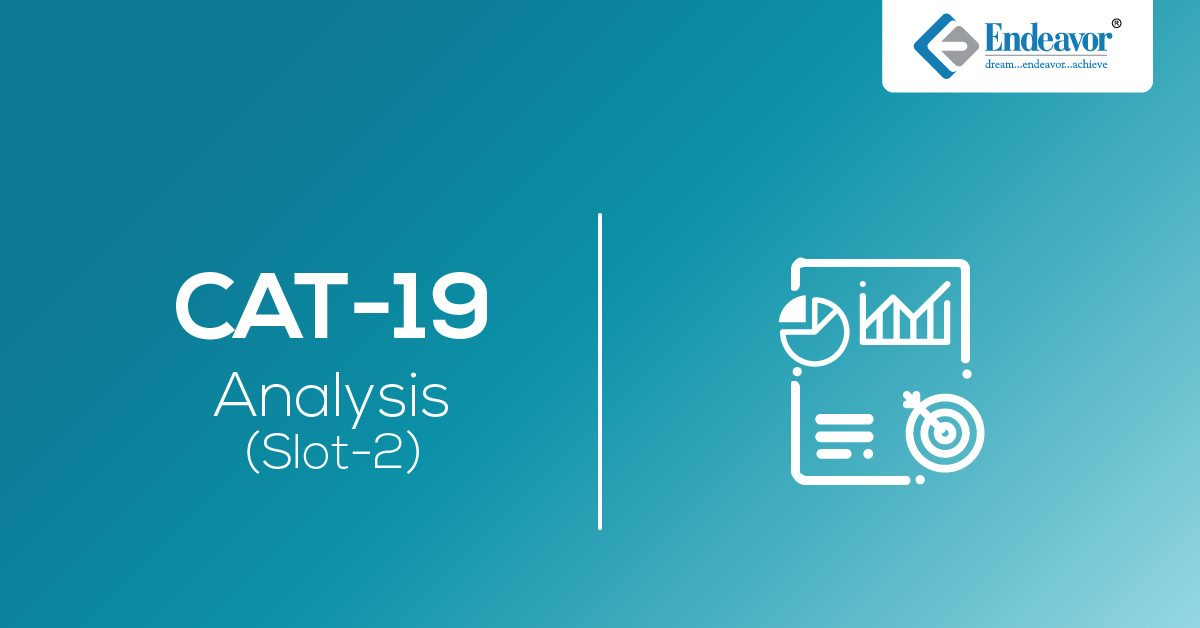 CAT 2019 Exam Analysis – Slot 2