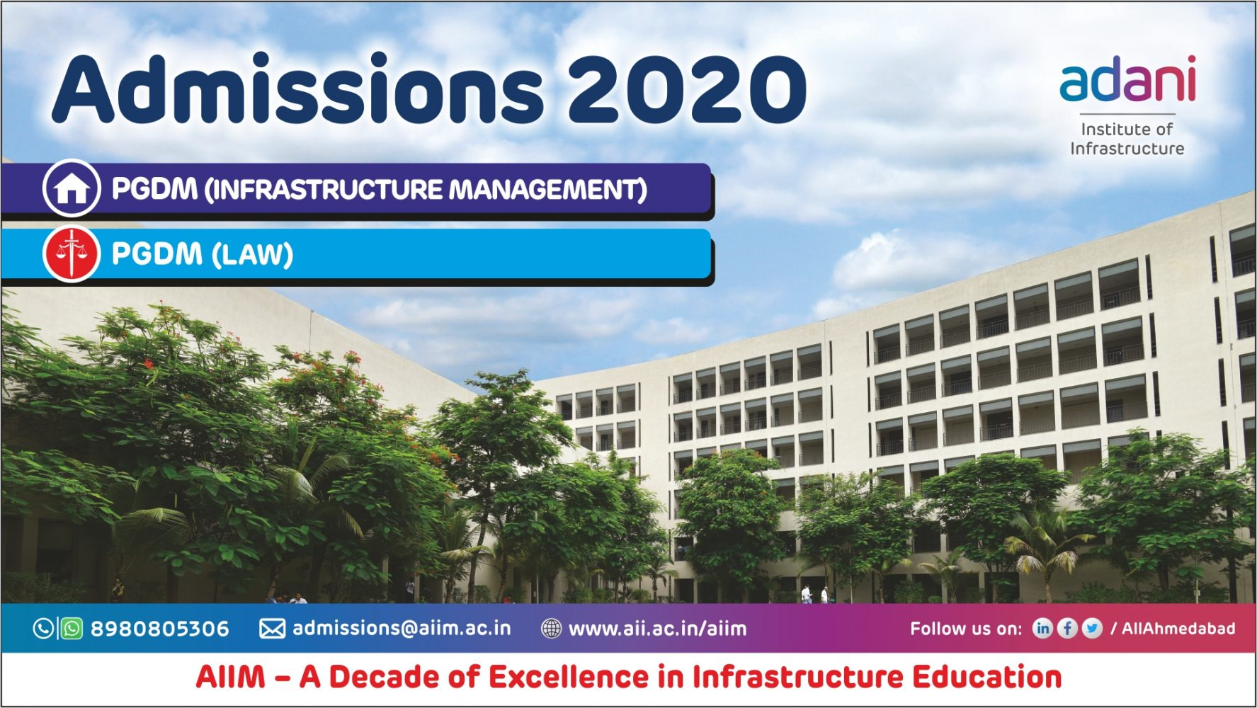 Adani Institute of Infrastructure Management