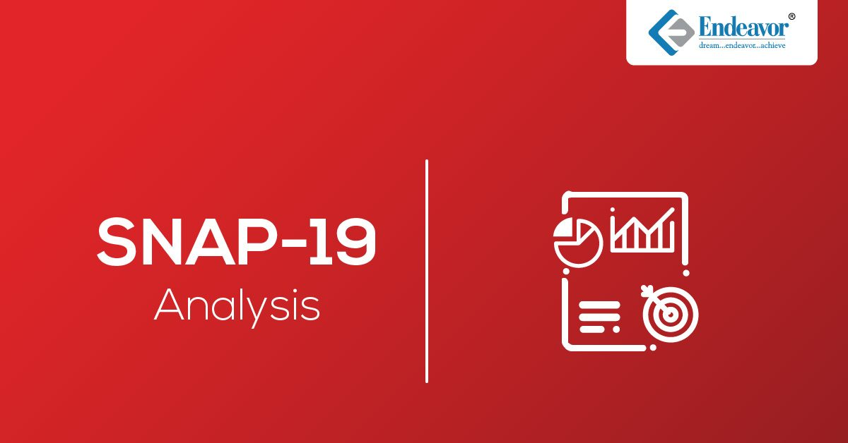 SNAP 2019 Exam Analysis