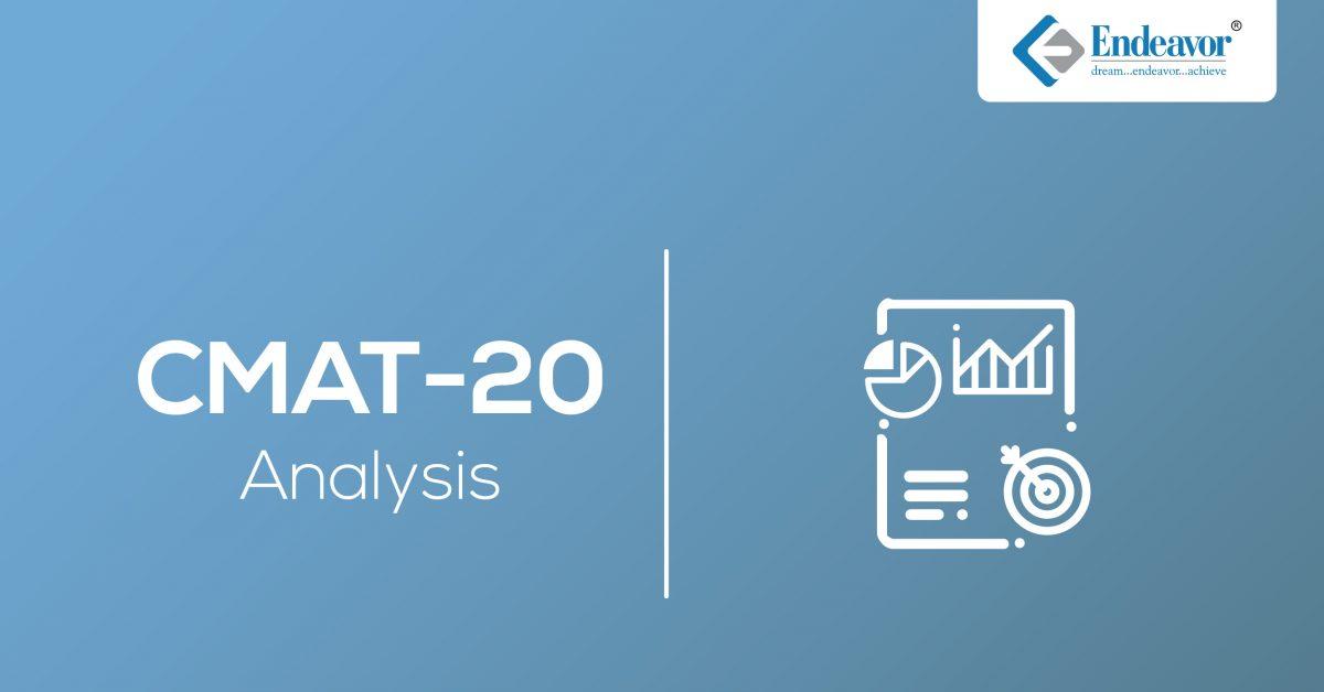 CMAT 2020 Exam Analysis