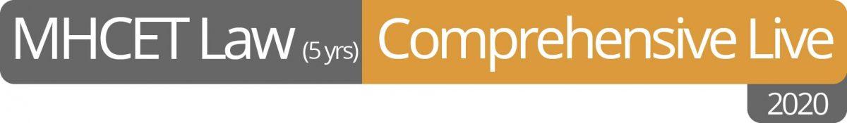 MHCET LAW 2020 (5 Years) Comprehensive Live