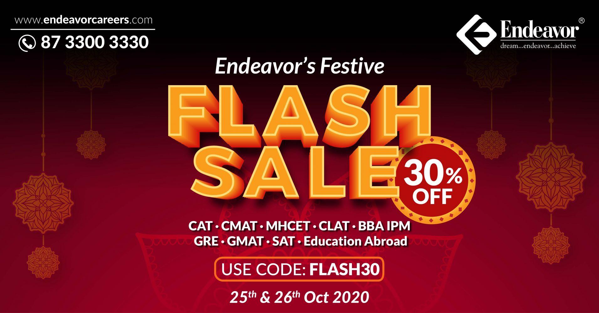 Endeavor Flash Sale