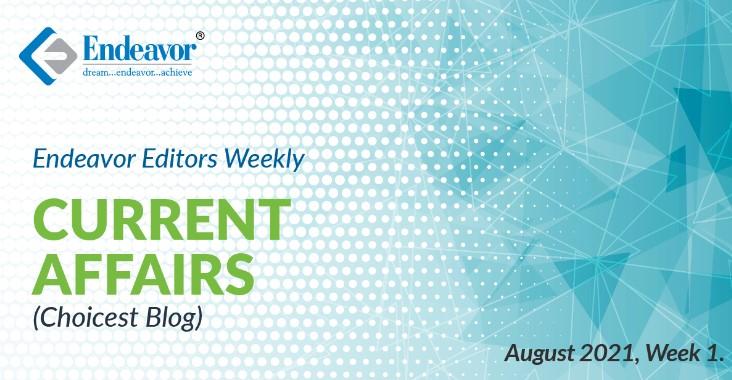 Endeavor Careers Choicest Blogs: August 2021, Week 01